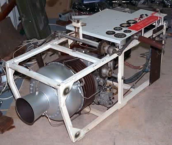 Mini Turboprop Engine: The Corestore